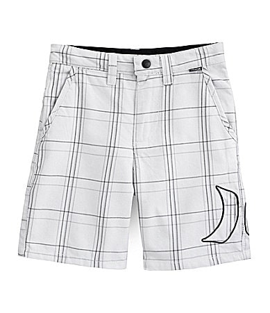 Hurley 2T-7 Plaid Poplin Shorts