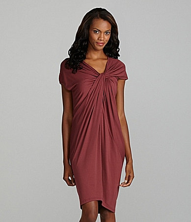Kenneth Cole New York Asymmetrical Knot Dress