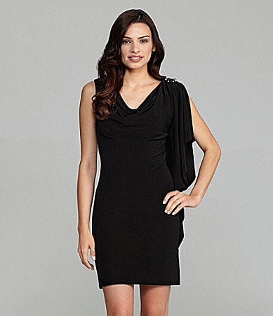 Jessica Howard Matte Jersey Dress
