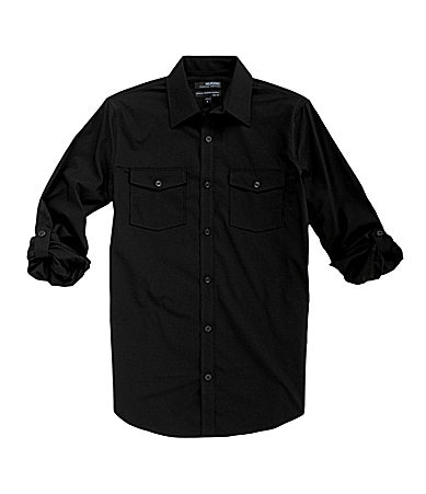 Murano Wardrobe Essentials Ultimate Modern Comfort Slim-Fit Solid Sportshirt