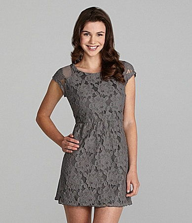 Ruby Rox Crochet Lace Dress