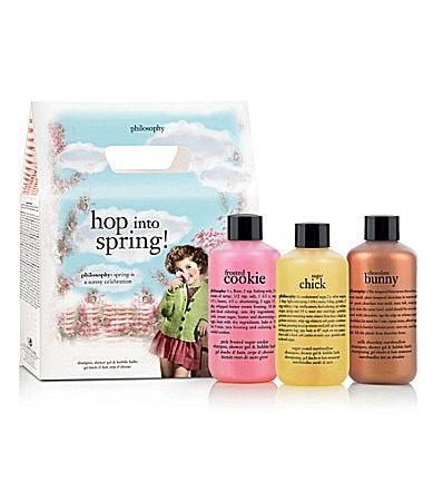 philosophy hop into spring trio