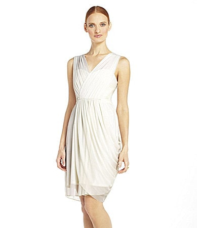 Max and Cleo Olivia Side-Drape Dress