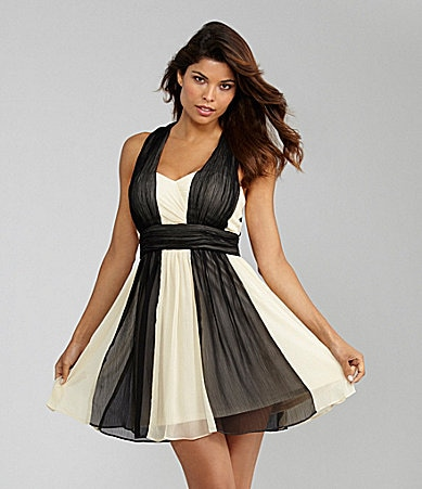 Max and Cleo Arianna Colorblock Dress