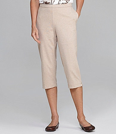 Allison Daley Pull-On Capri Pants