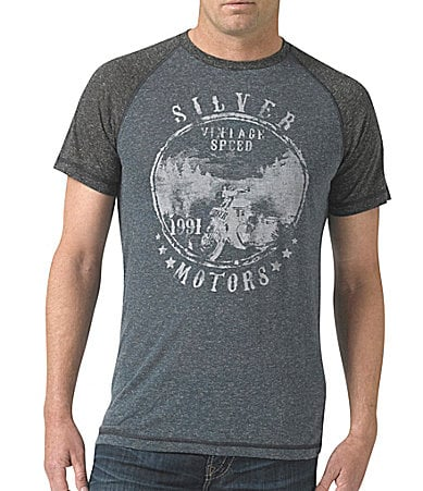 Silver Jeans Co. Raglan Graphic Tee