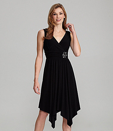 Jessica Howard Embellished-Waist Dress