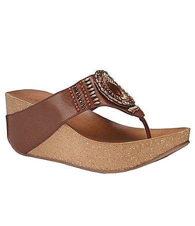 Kenneth Cole Reaction Tame Hi Jeweled Wedge Sandal