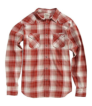 Lucky Brand Jeans Single Point Western Sportshirt