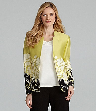 Preston & York Lola Floral Edge Jacket