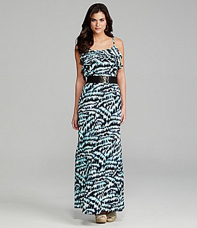 Gianni Bini Paloma Belted Maxi Dress