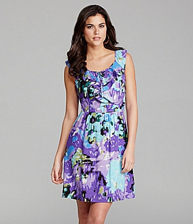 Gianni Bini Tanya Floral-Print Dress