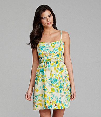 Gianni Bini Frannie Floral-Print Dress