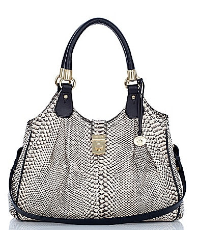 Brahmin Odyssey Collection Elisa Satchel