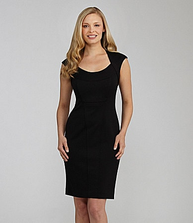Maggy London Cap-Sleeve LBD Dress