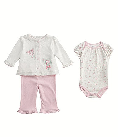 Starting Out Newborn 3-Piece Floral Set