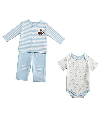 Starting Out Newborn 3-Piece Monkey Pant Set