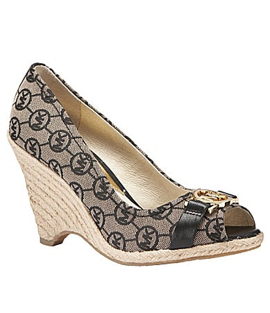 MICHAEL Michael Kors Meg Open-Toe Wedges