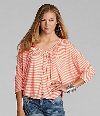 GB Striped Knit Top