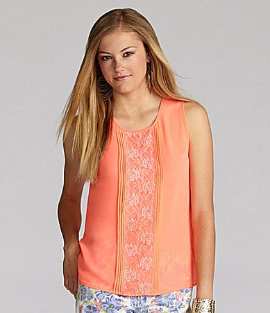 GB Neon Lace Top