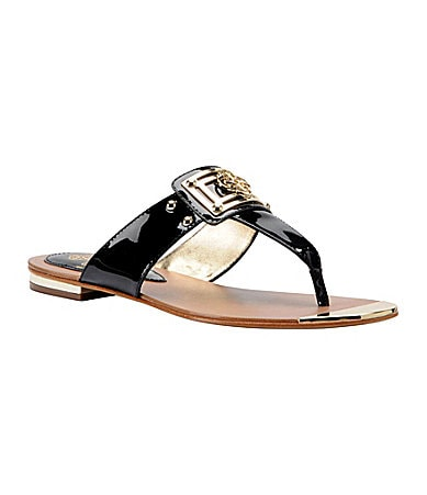 Isola Alary Patent Thong Sandals
