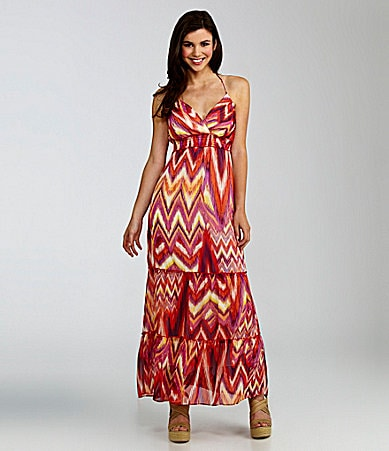 Soulmates Tiered Halter Maxi Dress