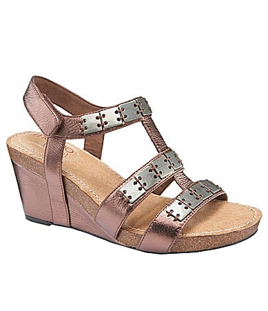 Me Too Kat Slingback Wedge Sandals