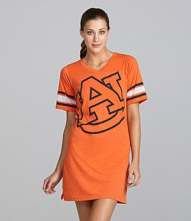 Emerson Street Auburn University Burnout Jersey Nightshirt