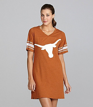 Emerson Street University of Texas Burnout Jersey Nightshirt