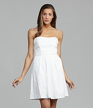 Seamline by Cynthia Steffe Anne Eyelet Dress