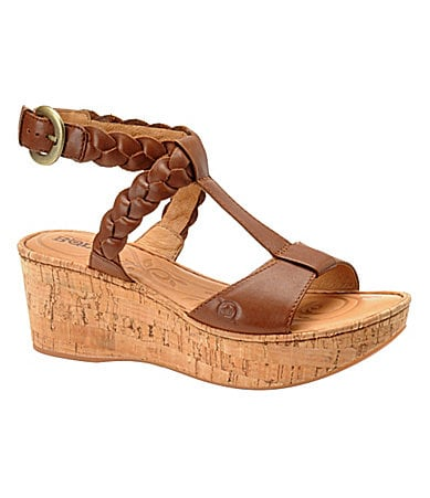 Born Women�s Laurene Wedge Sandals