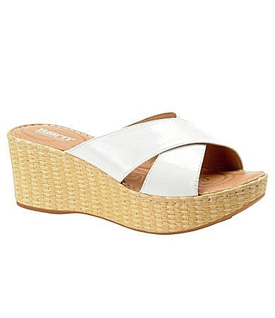 Born Yancy Wedge Sandals