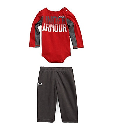Under Armour Newborn 2-Piece Blocked Bodysuit & Pants Set