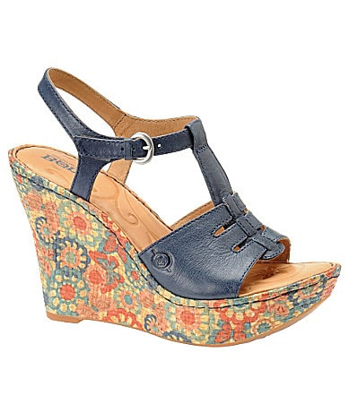 Born Rebecka Wedge Sandals