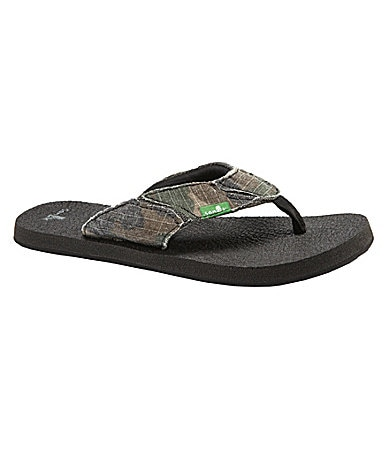 Sanuk Boys Aftershock Thong Sandals