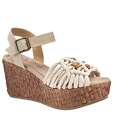 Big Buddha Zoom Wedge Sandals