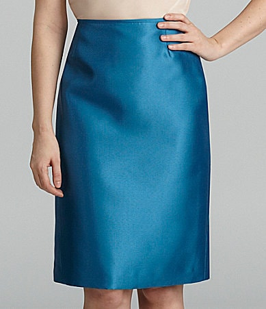 Preston & York Arie Satin Twill Skirt