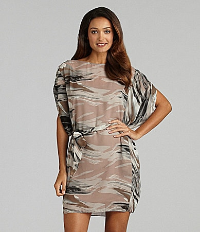 S.L. Fashions Dolman-Sleeve Dress