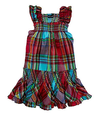 Ralph Lauren Childrenswear 2T-6X Little Madras Sundress