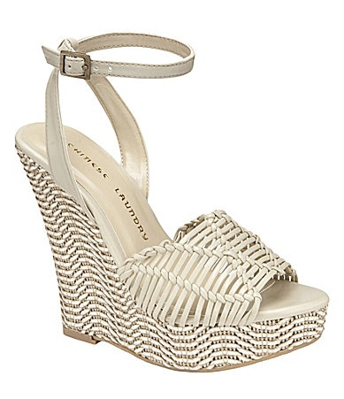 Chinese Laundry Simple Sweet Platform Wedge Sandals