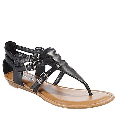 Gianni Bini Linnie T-Strap Sandals