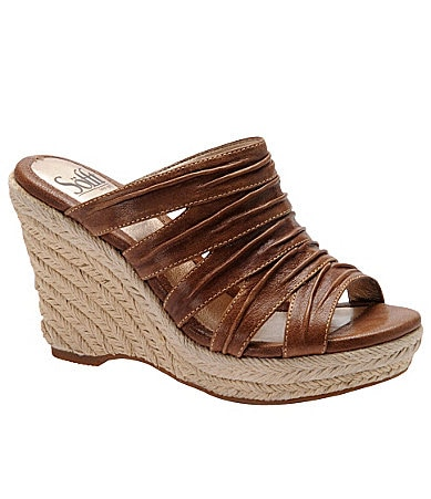 Sofft Boulogne Espadrille Wedge Sandals