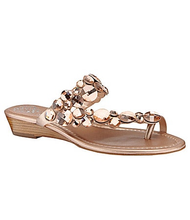 Vince Camuto Ilicia Jewel-Detail Sandals