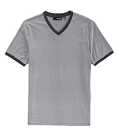 Murano Liquid Luxury Fitted V-Neck Tee