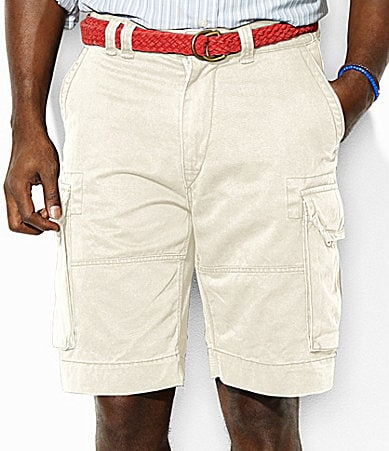 Polo Ralph Lauren Big & Tall Gellar Vintage Chino Fatigue Shorts