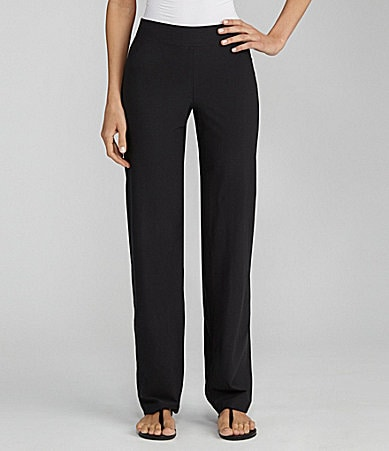Eileen Fisher Petites Straight-Leg Pants