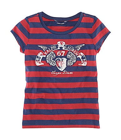 Ralph Lauren Childrenswear 7-16 Striped Shirt