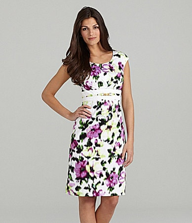 Alex Marie Teresa Stretch Cotton Dress