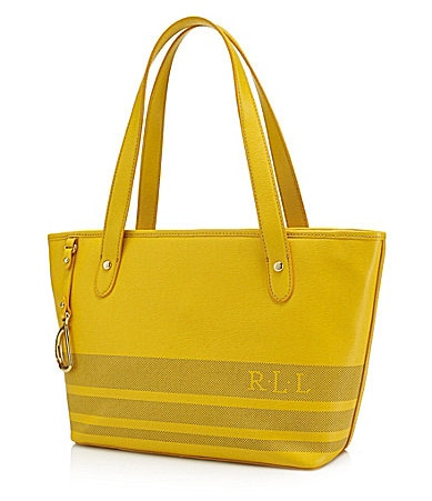 Lauren Ralph Lauren Perforated Newbury Shopper