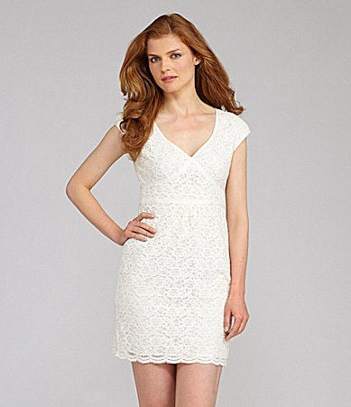 Nurture Empire Waist Lace Dress